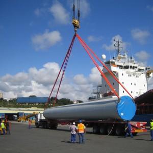carga a buque torres